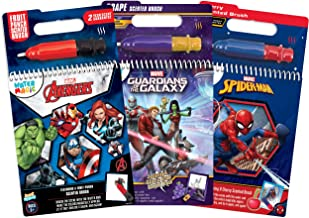 Scentco Water Magic - Scented Reusable Water Reveal Activity Book 3-Pack (Marvel Universe)