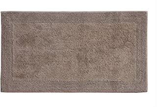 Grund Puro Series 100% Organic Cotton Reversible Bath Rug, 24-inch by 60-inch, Choco Cream