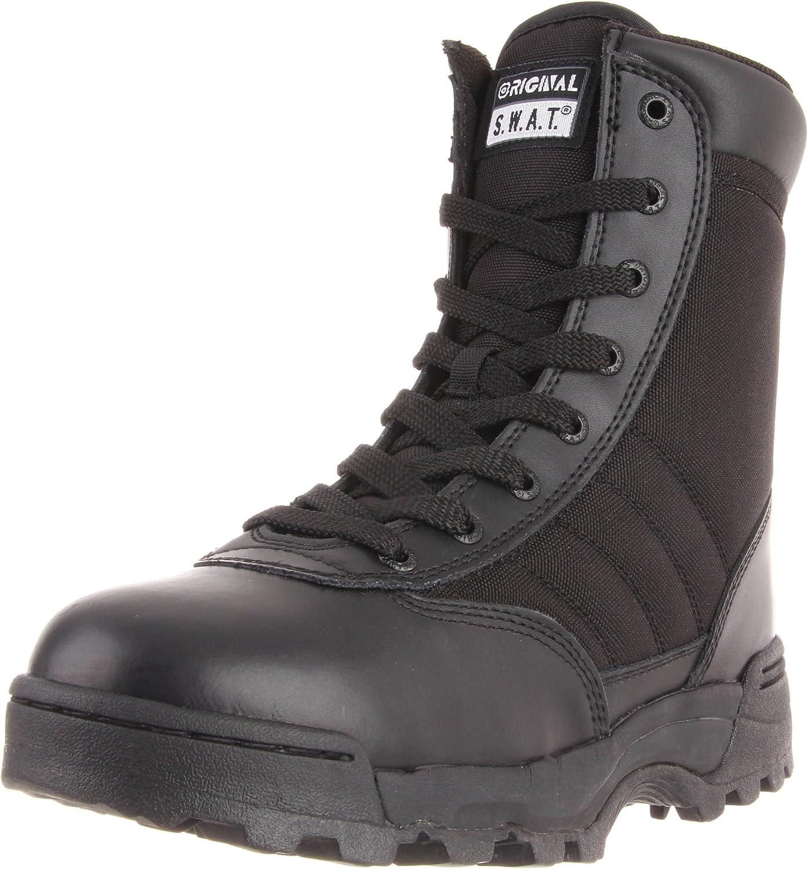Original S.W.A.T. Men's Classic 9  Side Zip Work Boot