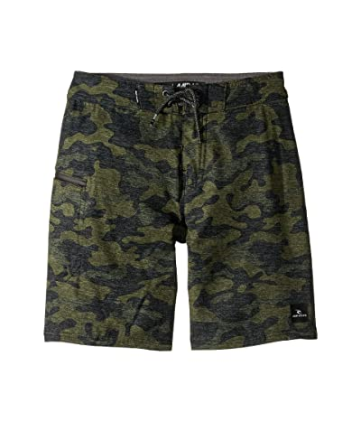 Rip Curl Kids Mirage Core Boardshorts (Big Kids) (Camo) Boy