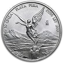 2016 MX Mexico 1/10 oz Silver Libertad BU Silver Brilliant Uncirculated