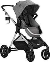Evenflo Pivot Xpand Modular Stroller, Baby Stroller, Converts to Double Stroller, 4 Modes, Durable Construction, Extra-Large Storage Basket, Compact Folding Design, 55-lb Capacity, Percheron Gray