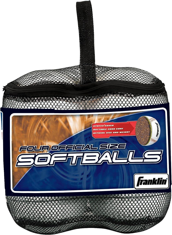 Franklin Sports 4 Luxury goods Award Softballs Pack
