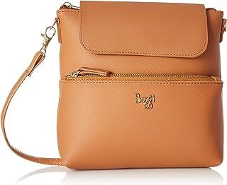 Baggit Women's Cosmetic Bag (TAN) (Unitsnits 1)