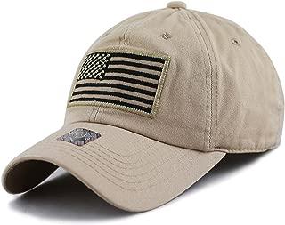 THE HAT DEPOT Tactical Operator USA Flag Cap