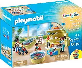Playmobil Aquarium Shop Building Set