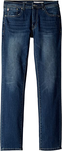 AG Adriano Goldschmied Kids - The Stryker Slim Straight in Carib Blue (Big Kids)