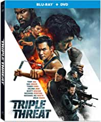 TRIPLE THREAT arrives on Blu-ray and DVD May 14 from Well Go USA Entertainment
