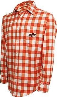 Crable mens Ncaa Men's Campus Specialties Ls Flannel Buffalo Check Shirt Ncaa Men's Campus Specialties Ls Flannel Buffalo ...