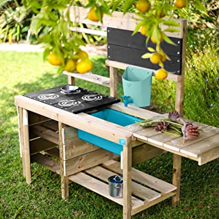 TP Toys Muddy Madness Wooden Mud Kitchen Outdoor Play