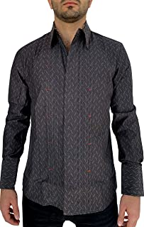 English Heroes Long Sleeve Fashion Button Down Woven Casual Anytime Shirt Shirt For Men