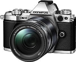 Olympus OM-D E-M5 Mark II Kit, Cámara de Sistema Micro Cuatro Tercios (16,1 MP, Estabilizador de Imagen de 5 Ejes, Visor Electrónico) + Objetivo M.Zuiko Digital ED 14-150mm F4-5.6, plata