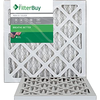 Nordic Pure 12x12x1 Exact MERV 12 Pleated AC Furnace Air Filters 4 Pack