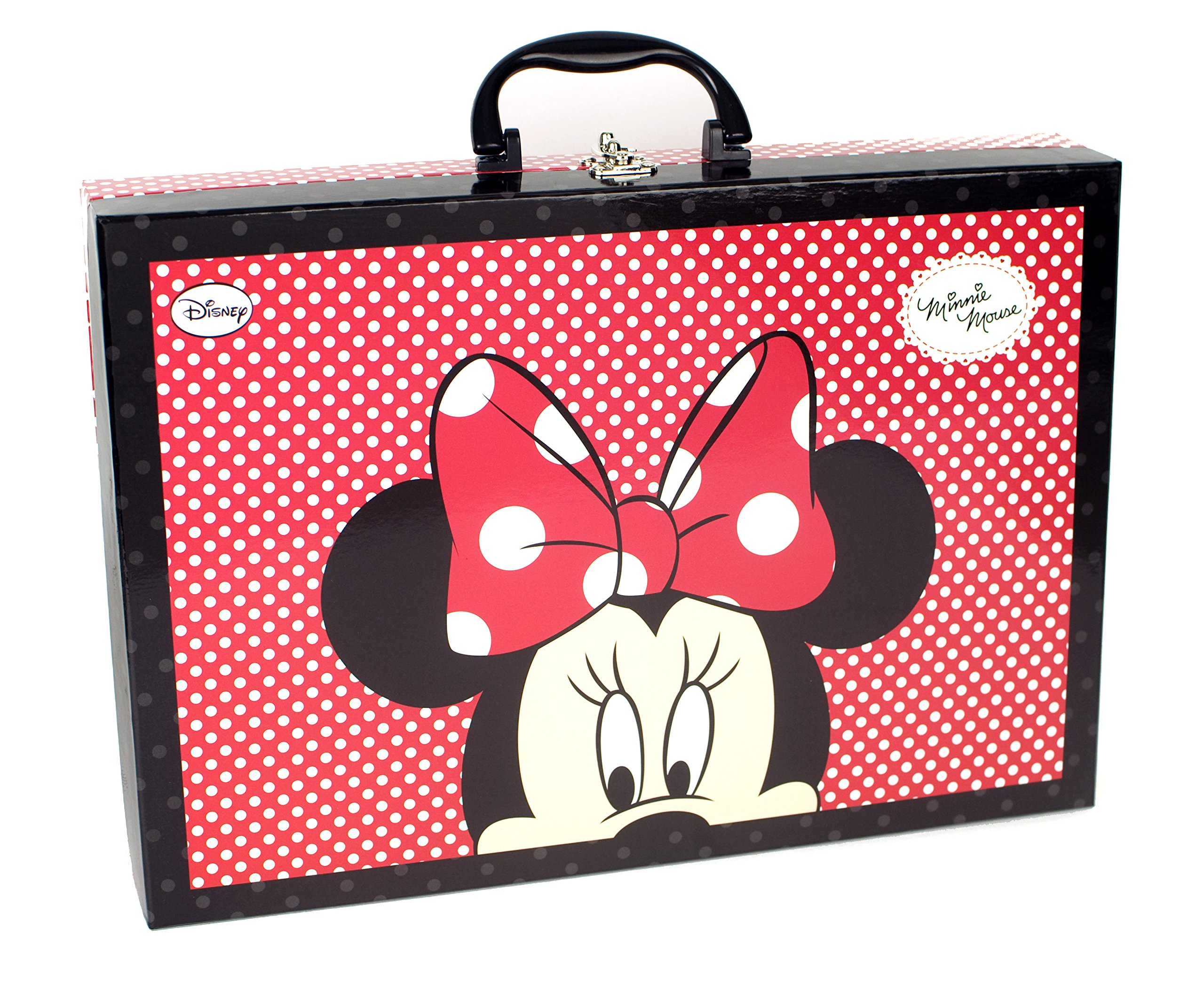 Minnie Mouse - Maquillaje, maletín con asa (Markwins): Amazon.es: Juguetes y juegos
