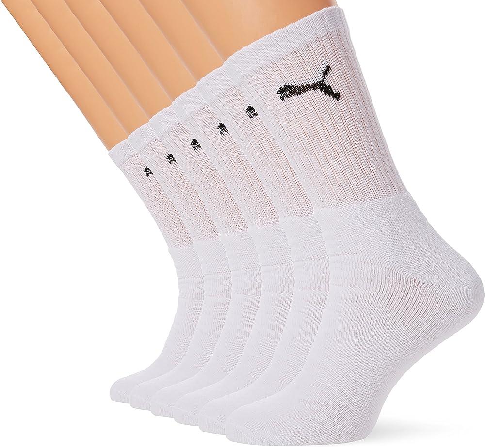 puma,6 paia di calze per uomo,cotone pettinato per la massima morbidezza 251021001803043