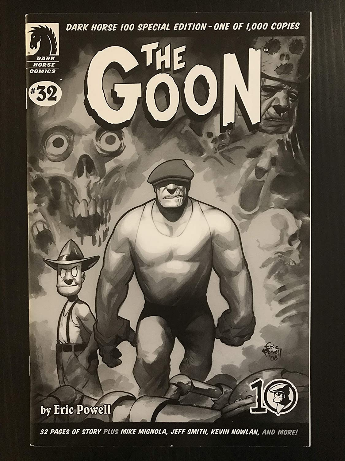 Goon #32 2003 Variant Dark Horse Columbus Mall Comic 1 000 Book c Only security