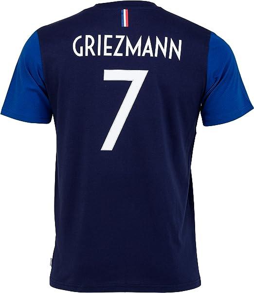 Equipe De France De Football Ragazzo FFF Antoine Griezmann T-shirt, Collezione ufficiale della squadra di calcio francese