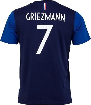 Equipe de FRANCE de football T-Shirt FFF - Antoine Griezmann - Collection Officielle Taille Enfant garçon