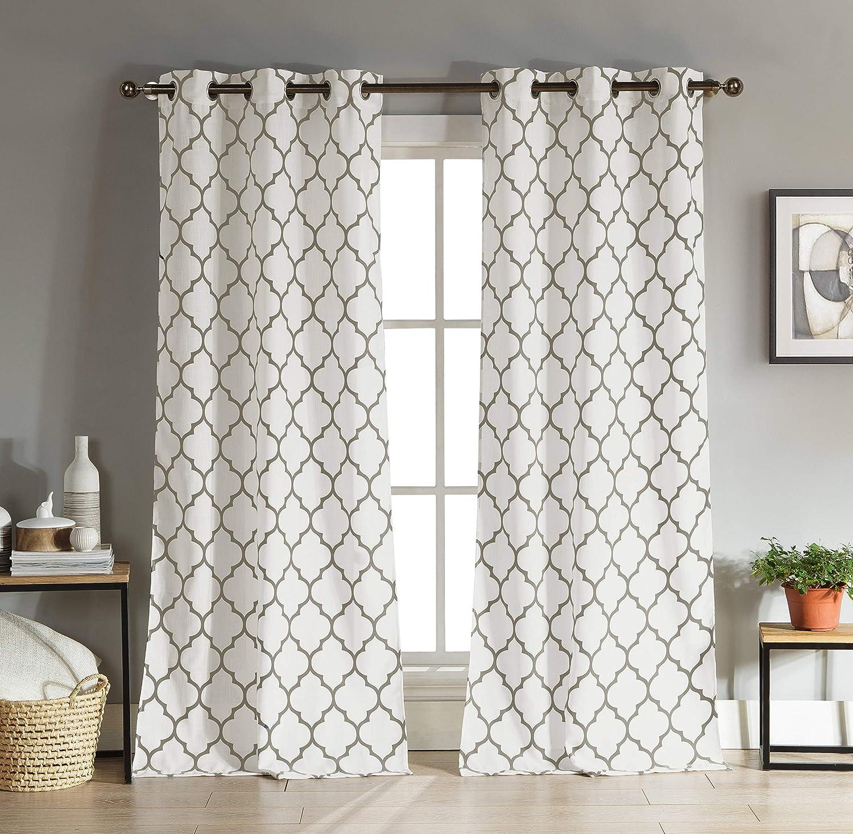 おトク 激安卸販売新品 Duck River Textile Mason Geometric 38x96 Curtain Window Piec 2