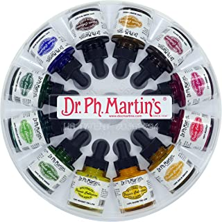 Dr. Ph. Martin's Spectralite Private Collection Liquid Acrylics Bottles, 1.0 oz, Set of 12 (Set 2)