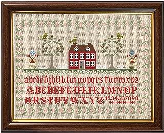 brick house sampler cross stitch