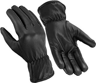 Hugger Affordable Men's Basic Seamless Driving, Police, and Motorcycle Glove