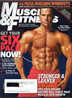 Muscle and Fitness - June 2007: Bodybuilding Magazine (Single Issue Magazine)