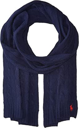 Polo Ralph Lauren - Cashmere Blend Classic Cable Scarf