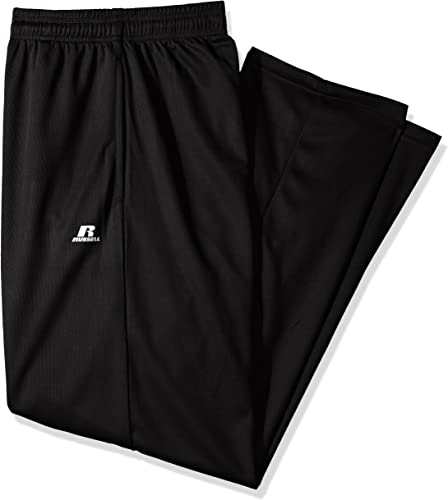 Russell Athletic Hommes's Big and Tall Dri-Power Pant, noir, 2X