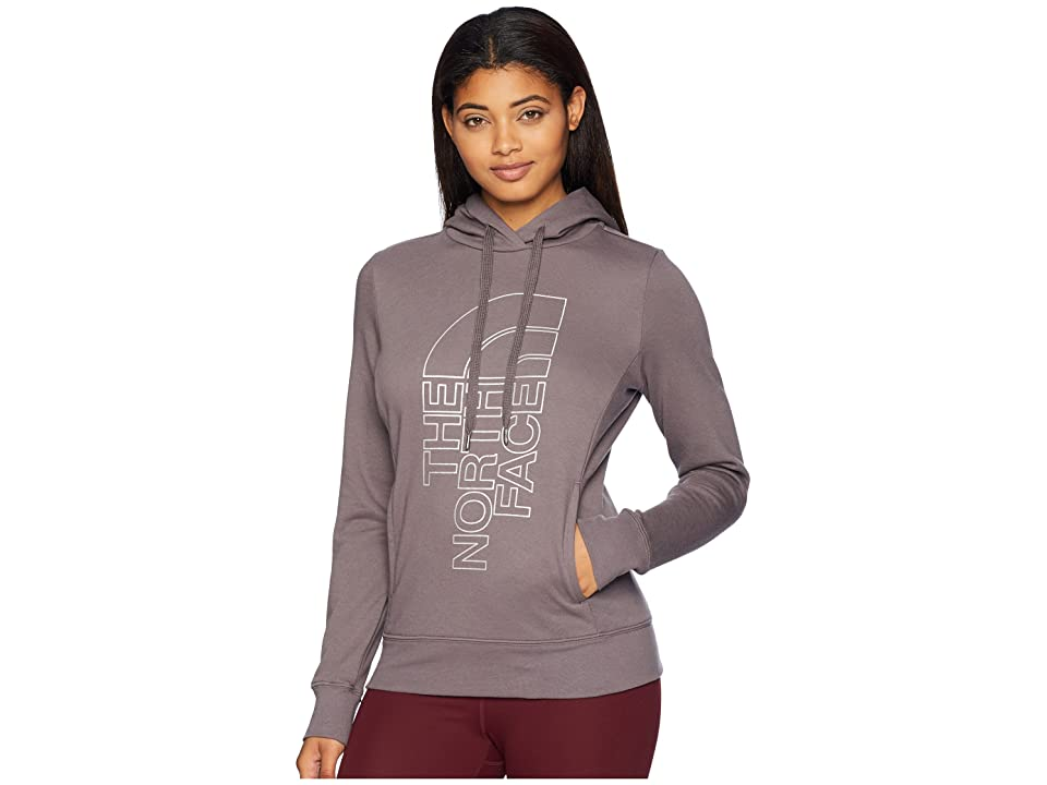 The North Face Trivert Pullover Hoodie (Rabbit Grey/Silver Foil) Women