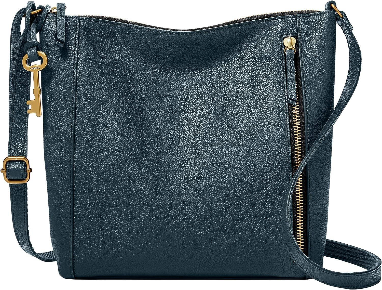 Fossil Women's Tara Leather Crossbody Purse Handbag