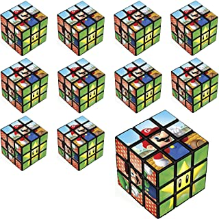 Party City Super Mario Puzzle Cubes 24 Count, Birthday Party Favors for Kids, Plastic, 1 1/4