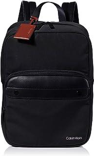 حقيبة ظهر مربعة نايلون من كالفن كلاين يونايتد، اسود، 41 سم - K50K505381