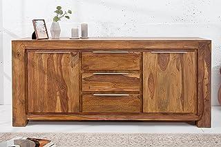 DuNord Design GOA - Aparador (175 cm madera maciza de Sheesham