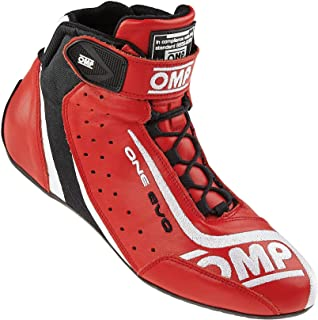 OMP Unisex-Adult ONE EVO Shoes (Red, 44)