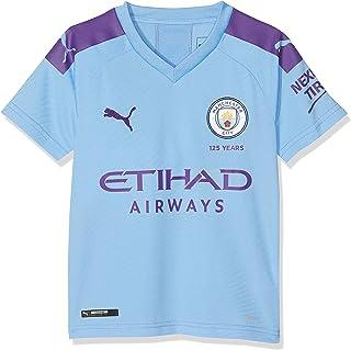 89bef9b0 Manchester City F.C. Children's Mcfc Home Shirt Replica Ss Jr With Sponsor  Logo Jersey