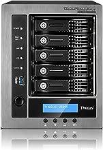 Thecus W5810 5-Bay WSS NAS with Intel Celeron J1900 Quad Core, 4GB RAM, Windows License Included - Metallic/Black