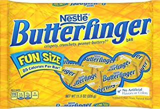 Butterfinger Chocolate Bars, Fun Size, 11.5 oz
