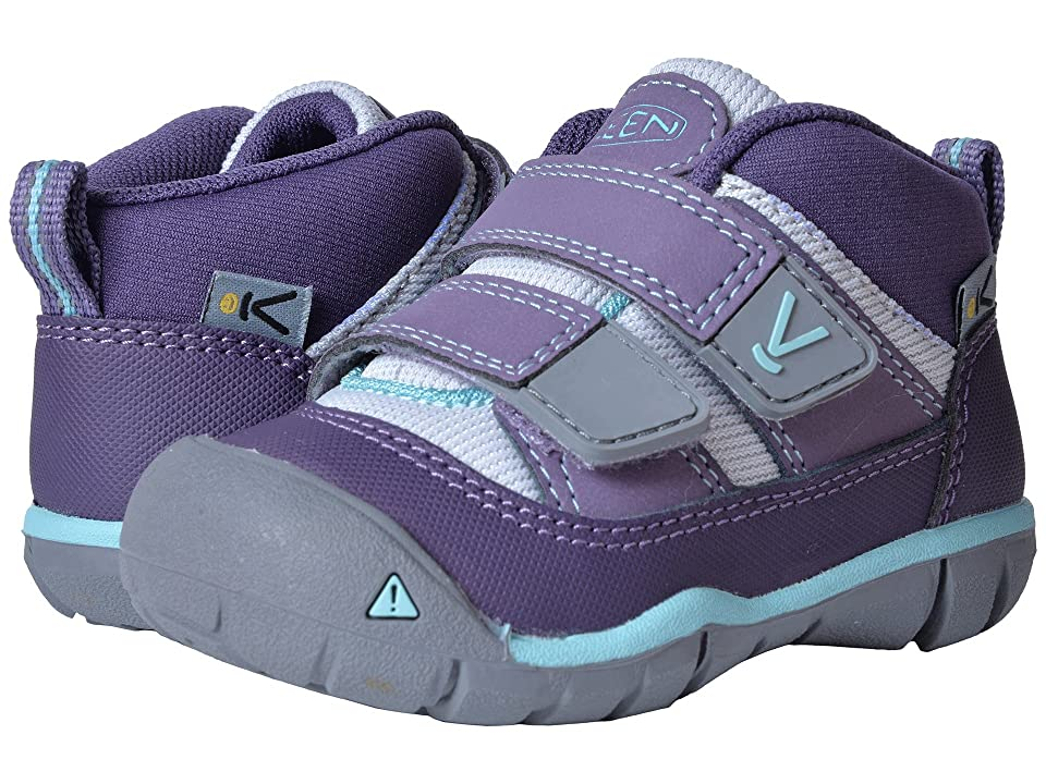 Keen Kids Peek-A-Shoe (Toddler) (Purple Plumeria/Sweet Lavender) Girls Shoes