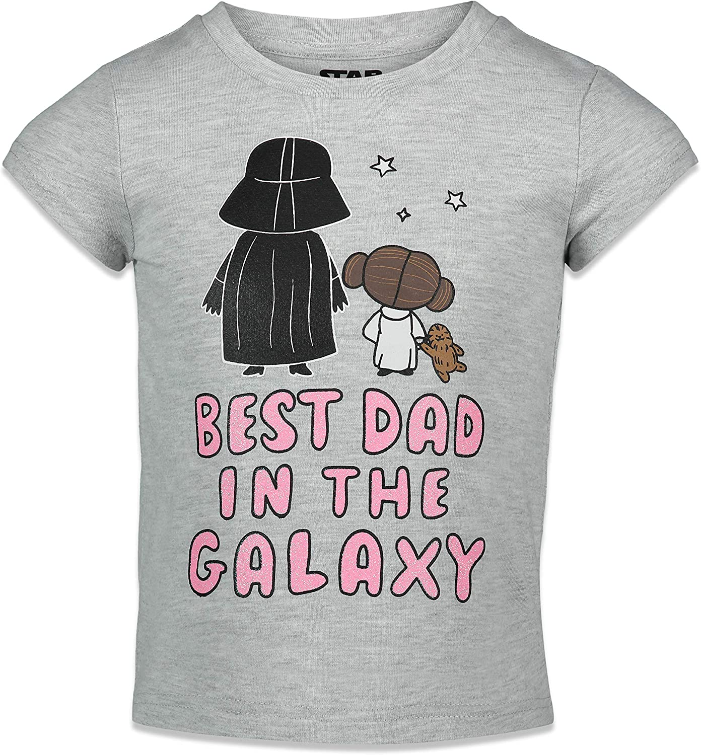 Easy-to-use STAR WARS Darth Complete Free Shipping Vader Princess Leia Girls Sleeve Graphic T Short