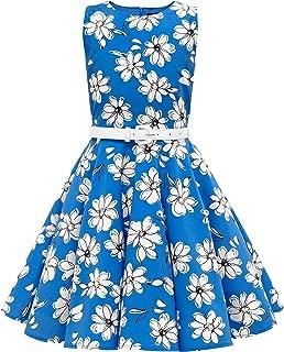 BlackButterfly Kids 'Audrey' Vintage Daisy 50's Girls Dress