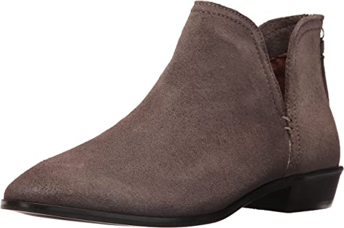 Kenneth Cole REACTION Wohommes Wohommes Loop There It is Flat Ankle Notch démarrageie Suede, Concrete, 9 M US  le magasin