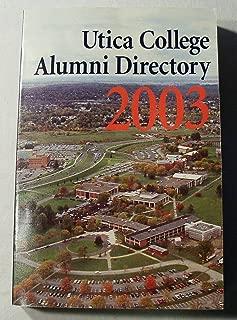 Utica College Alumni Directory 2003