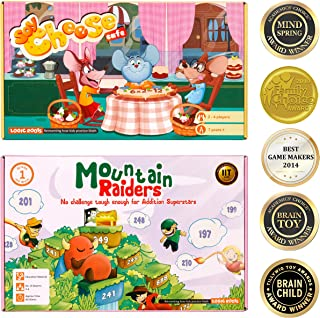 Addition Math Game Mountain Raiders and Multiplication Table Game Say Cheese for Kids of 7 Year Olds and up