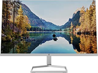"""Sponsored Ad – HP M24fw Full HD 23.8"""" IPS LCD Monitor with AMD FreeSync 2021 Model - Silver White"""