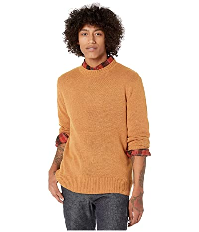 J.Crew Merino Nylon Crew (Heather Copper) Men