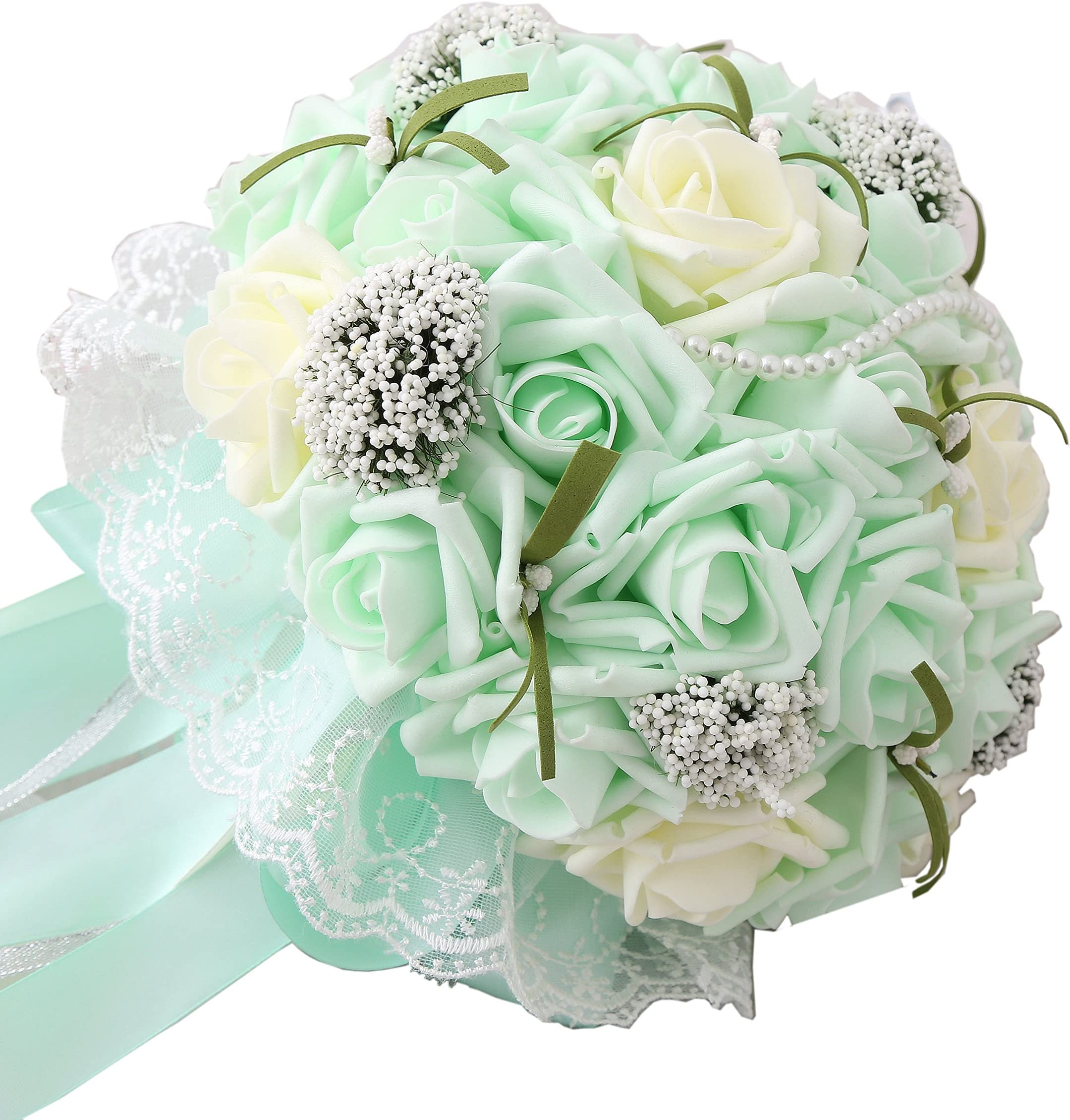 mint green invitations; hand dyed; hand ripped; wedding photography; teal Seaglass Cotton Ribbon; 100/% Vegan Cruelty Free; Bridal Bouquet