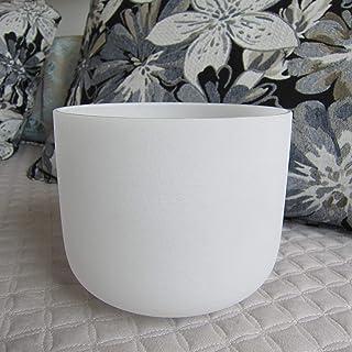 8 Inch Chakra Healing Quartz Crystal Singing Bowl (G-Throat Chakra)