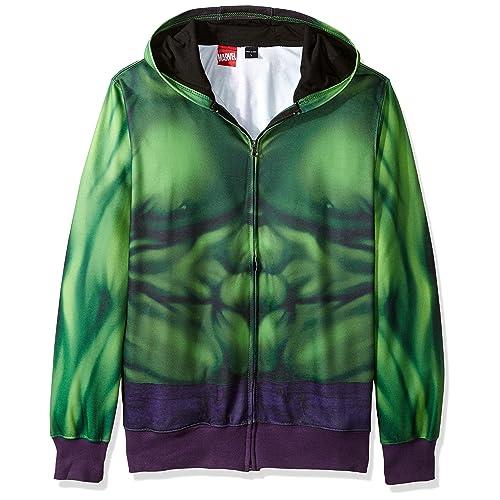 rare Hoodies & Sweatshirts Clothing, Shoes & Accessories Mens Hulk Holgan Hoodie Black Size M