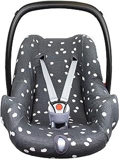 BriljantBaby ** BabyFit Spots 100% algodón Interlock Jersey ** Funda para Maxi-cosi Cabriofix, Pebble, Citi, Streety Fix etc.
